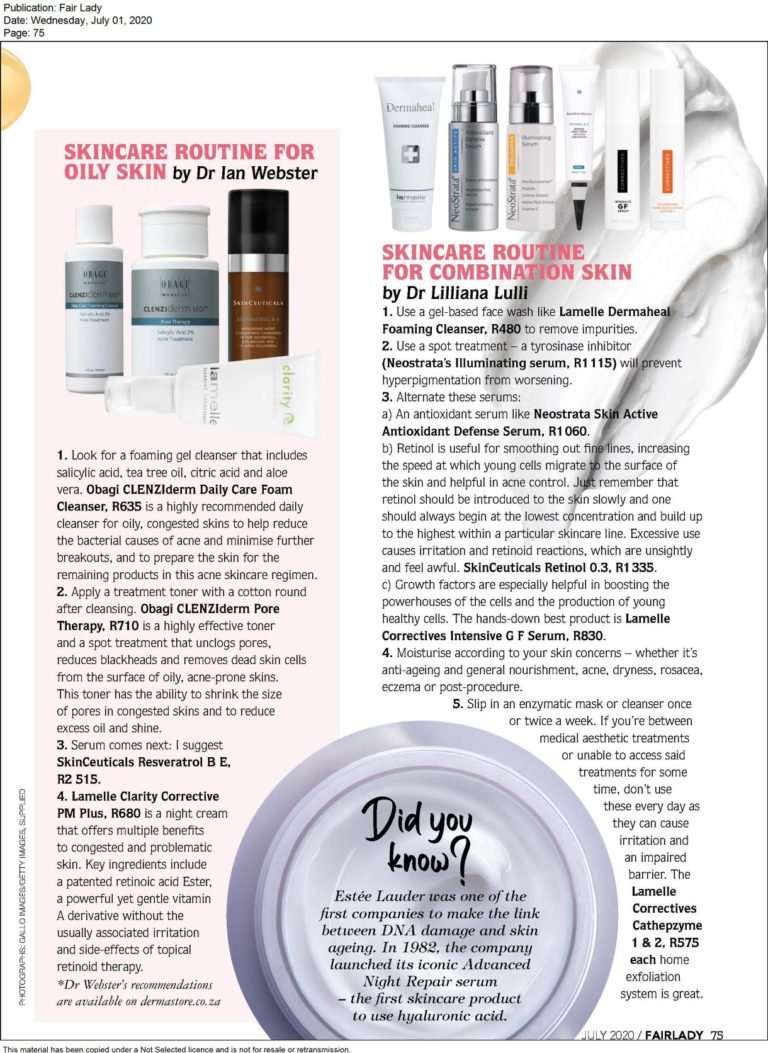 Read more about the article Fair Lady – Skincare Routine for Combination Skin