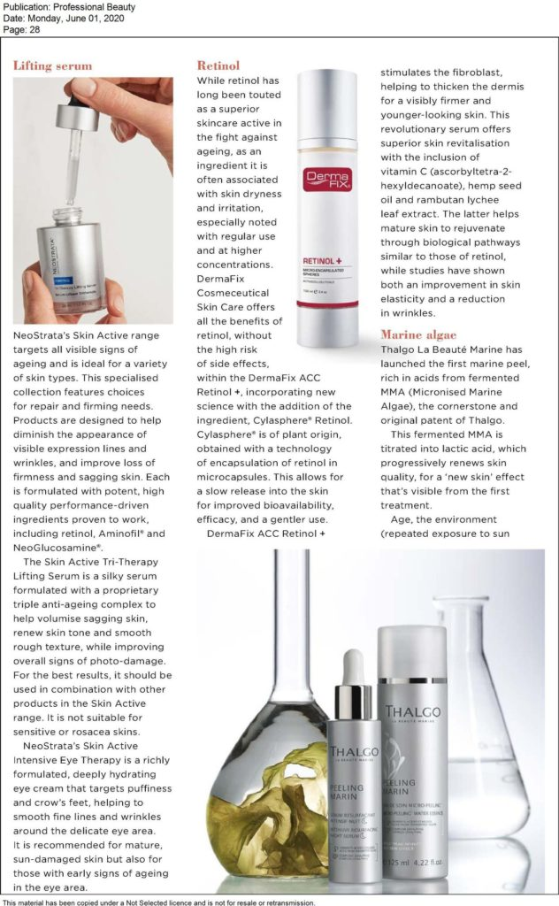 Read more about the article Professional Beauty – NeoStrata Skin Active Range
